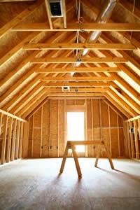 Attic Before Four Decades Contracting